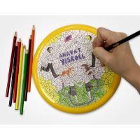 Color Your Own Ahavas Yisrael Frisbees